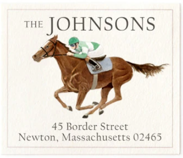 Custom Address Stickers - Saratoga Eleven