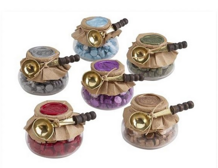 Sealing Wax Beads - 8 colors available