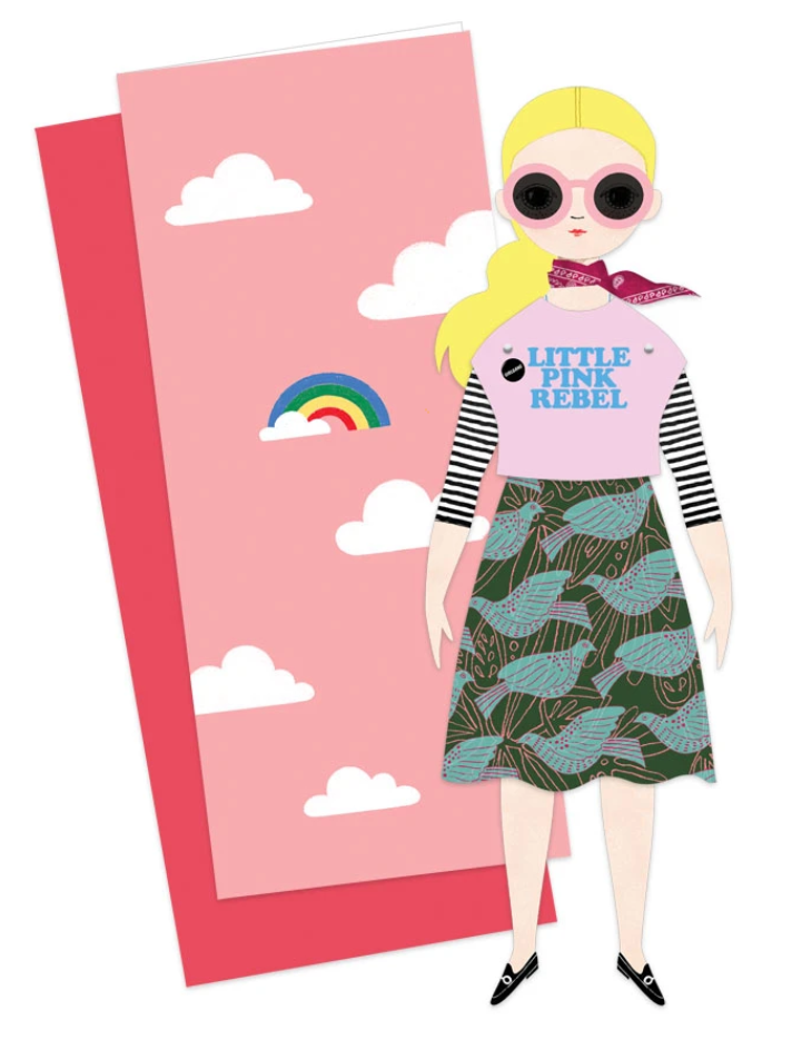 Mailable Paper Doll - Riley