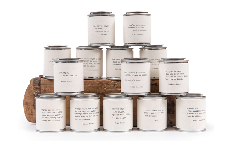 Shine Travel Candle - 14 styles available