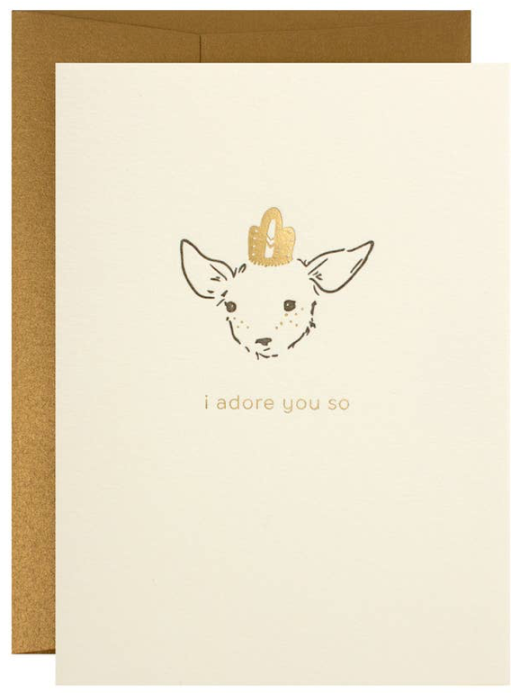 I Adore You So Greeting Card