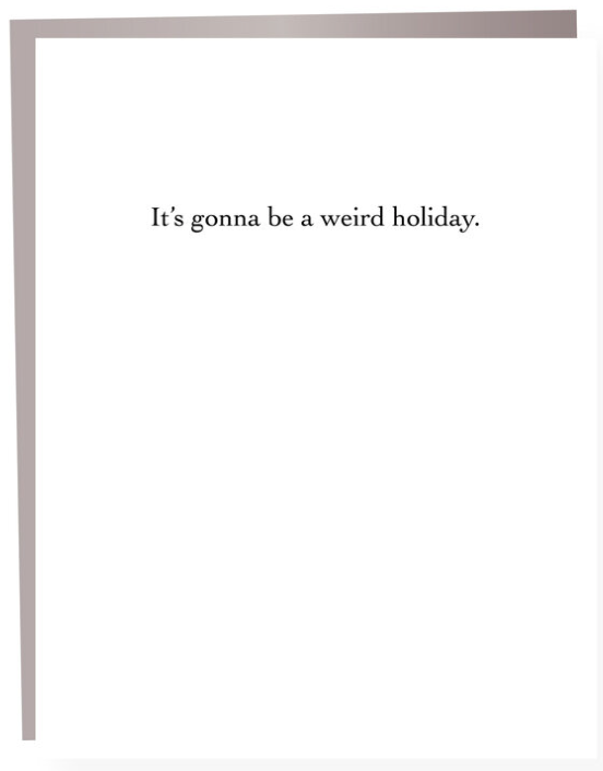 Weird Holiday Greeting Card