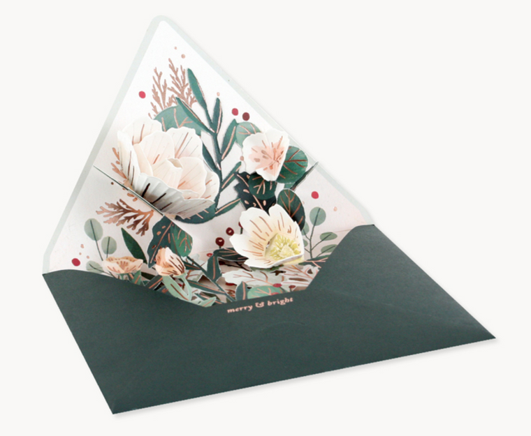 Winter Envelope Greeting Card