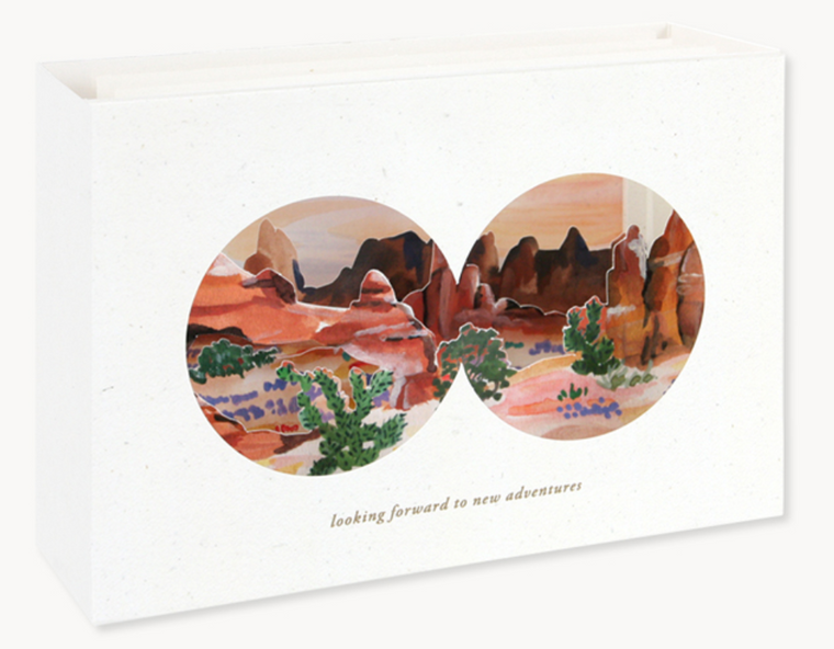 Desert View Greeting Card