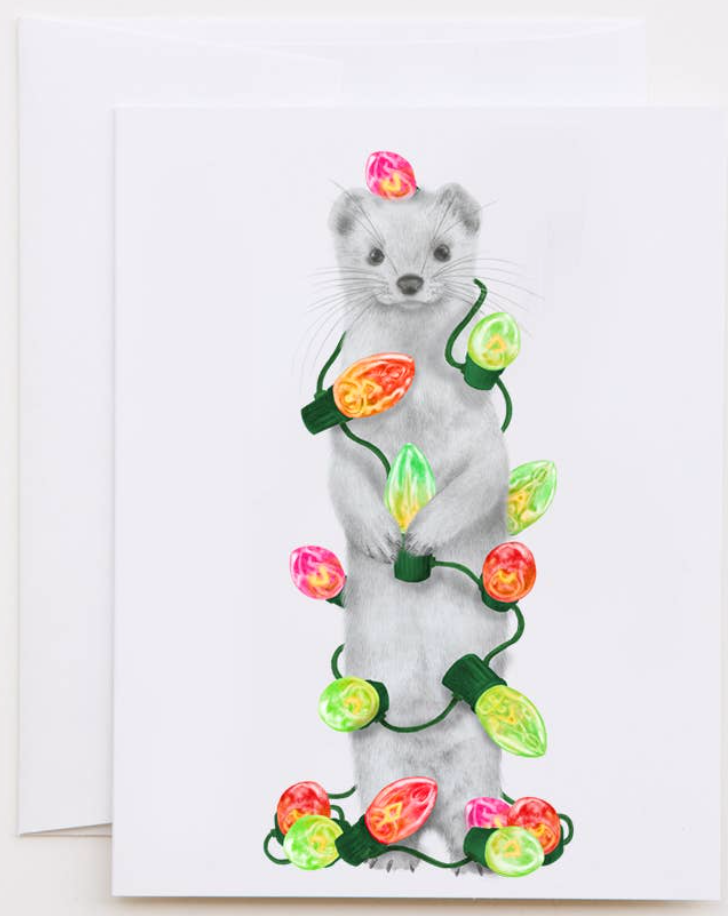 Jubilee de le Champs Ermine Greeting Card