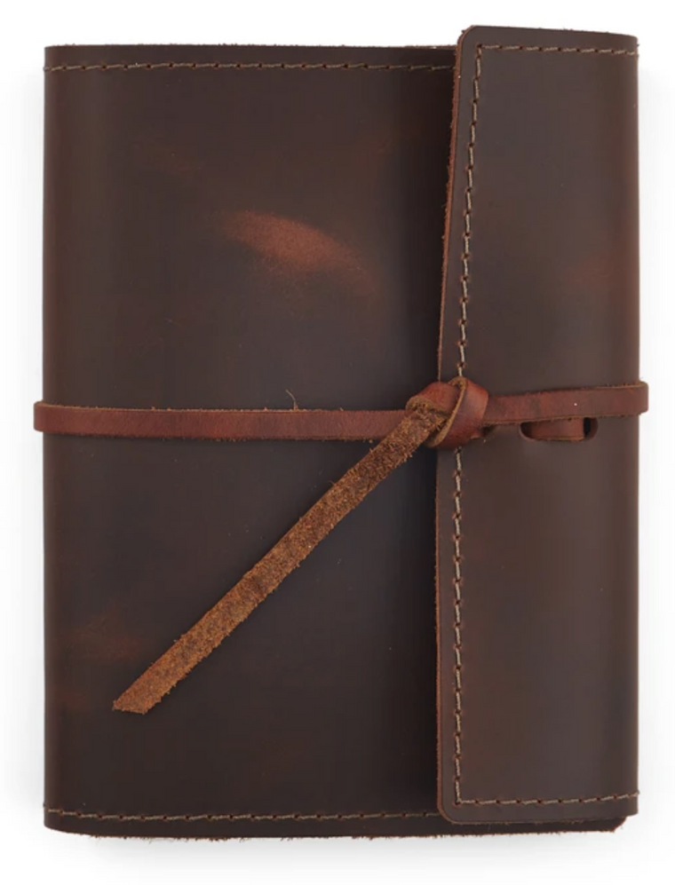 Refillable Leather Journal 5 1/4