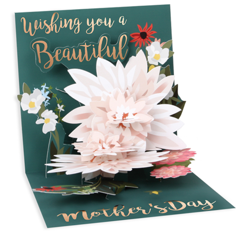 Beautiful Wishes Mother's Day Pop-Up Greeting Card