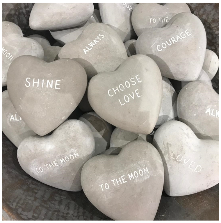 Stone Hearts - 6 Styles Available