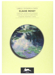 Monet Labels, Stickers & Tapes Book