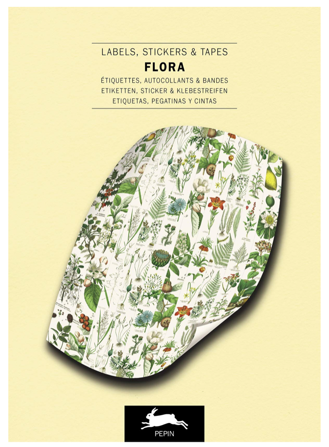 Flora Labels, Stickers & Tapes Book
