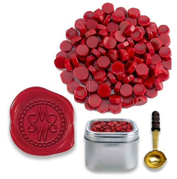 Sealing Wax Beads - 12 colors available