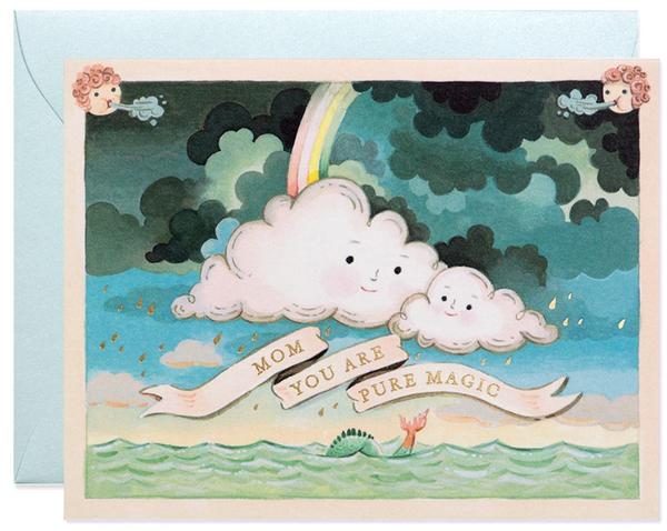 Mother's Day Clouds Greeting Card