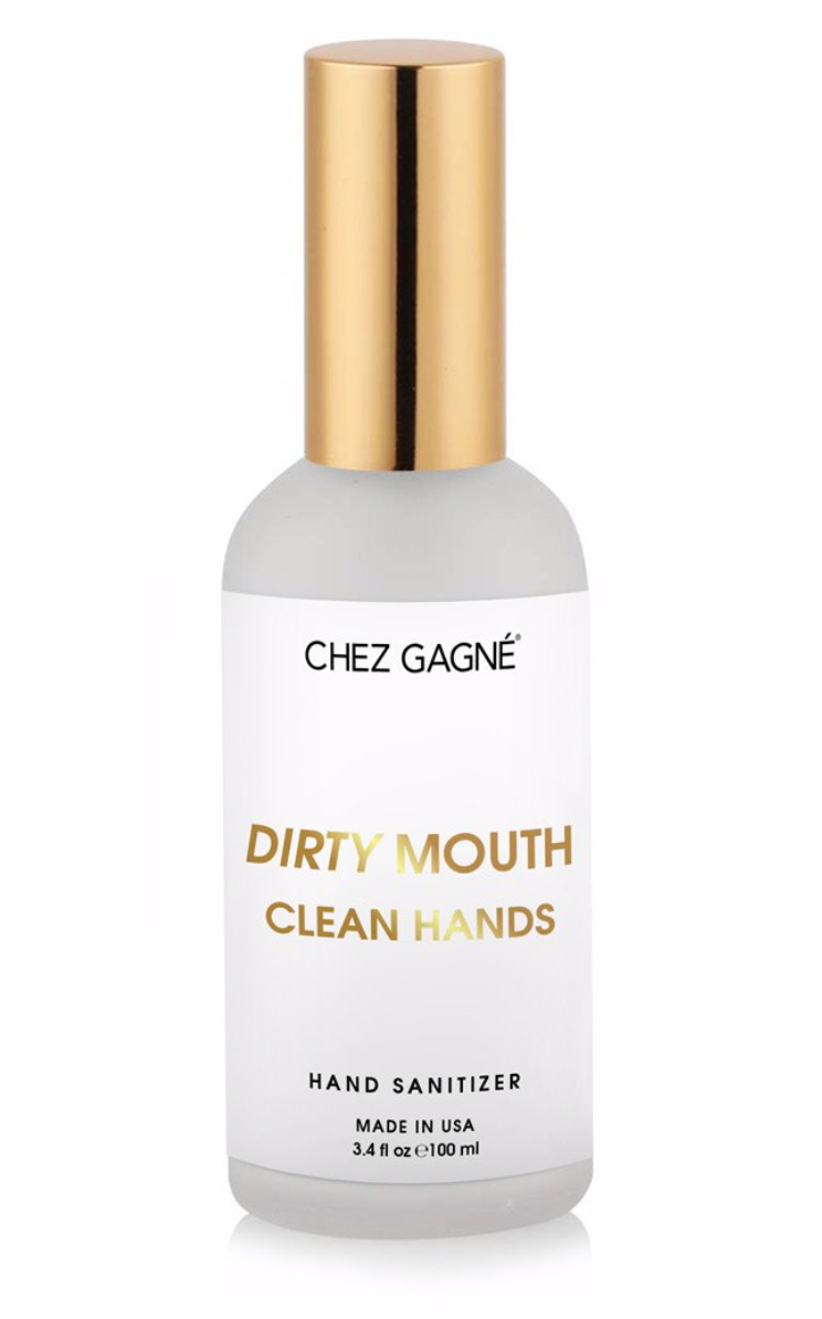 Dirty Mouth Clean Hands Hand Sanitizer