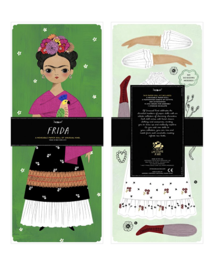 Paper Doll Kit - Frida
