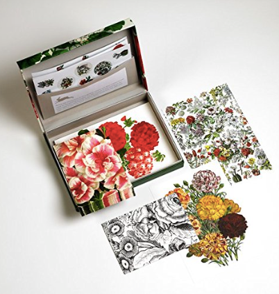Letter Writing Set - Flower Prints