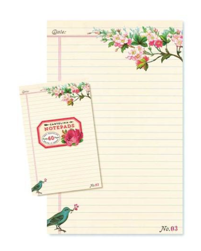 Bluebird Notepad