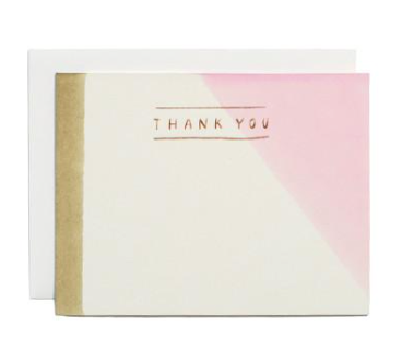 Dipped Thank You Card Boxed Set