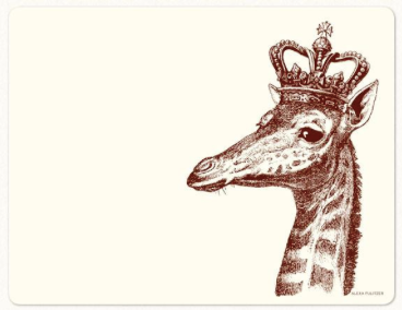 Royal Giraffe Note