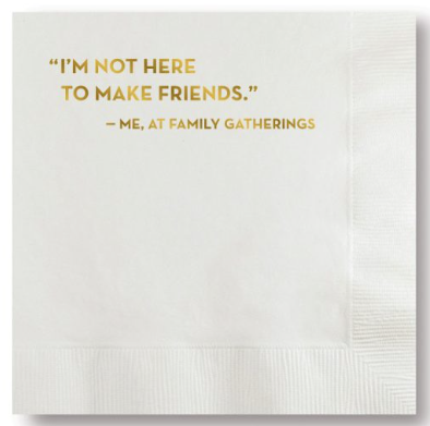 Make Friends Napkins
