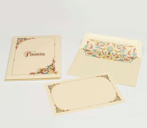 Florentia Italian Paper Card Portfolio - Available in 3 sizes