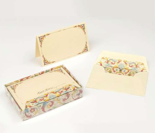 Florentia Italian Paper Fold-over Card Box Set