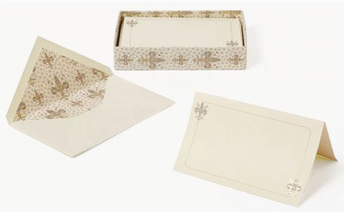 Lilium Italian Paper Fold-over Card Box Set