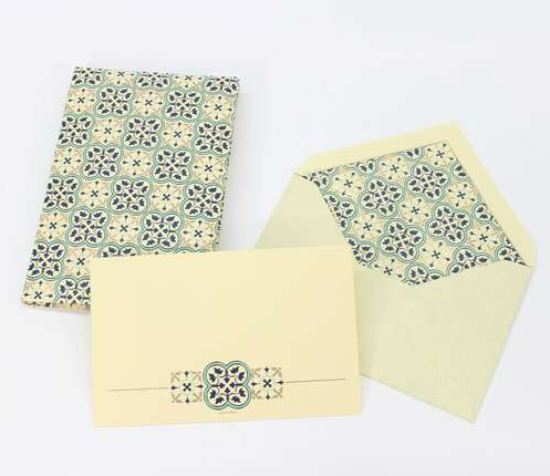Quadrilobo Italian Paper Card Portfolio - Available in 2 sizes