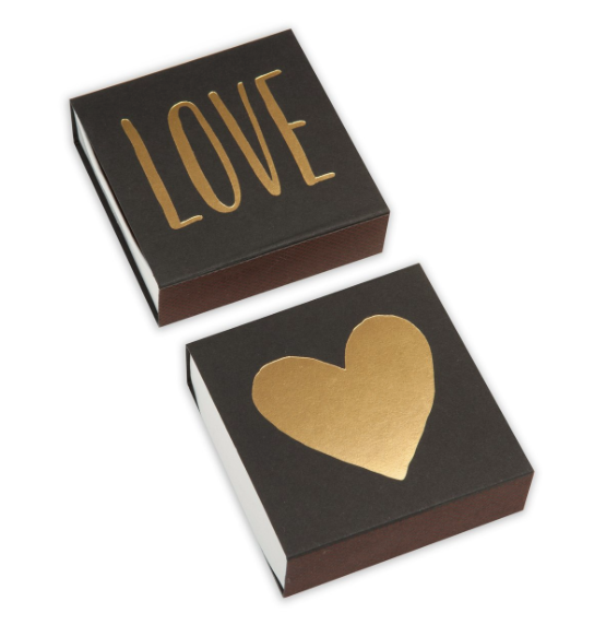 Love Square Matchbox