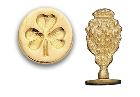 "3/4"" Round Brass Wax Seal"
