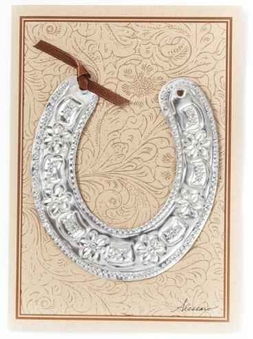 Horseshoe Ornament Card