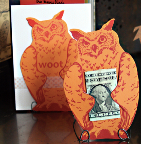 Woot Owl Gift Greeting Card