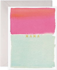 Love You Mama Greeting Card