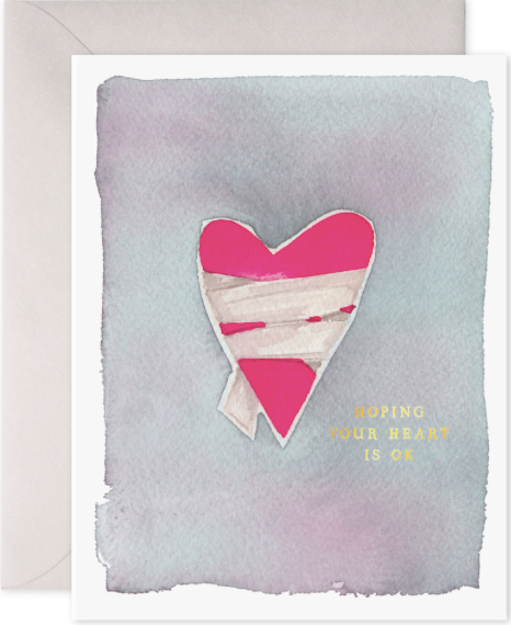 Hurt Heart Greeting Card