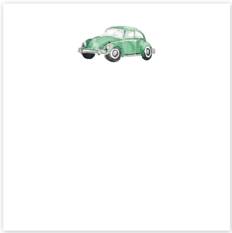 Punchbuggy Notepad