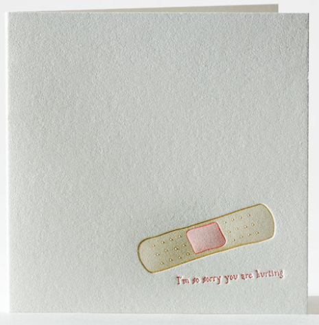 Bandage Greeting Card