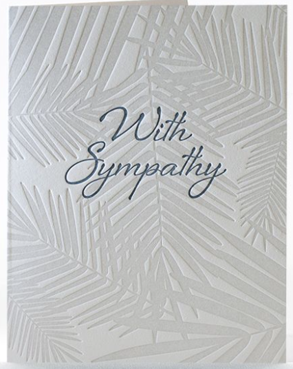 Sympathy Oasis Greeting Card