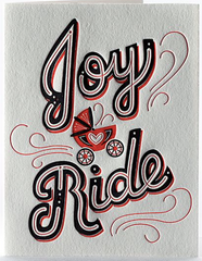 Joy Ride Greeting Card