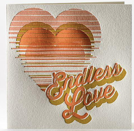 Sunset Love Greeting Card