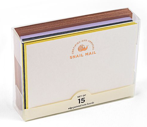 Snail Mail Note Boards Boxed Set