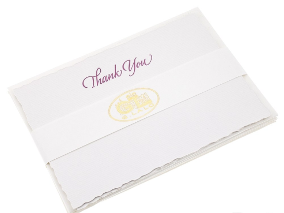 Deckle-Edged Thank You Set