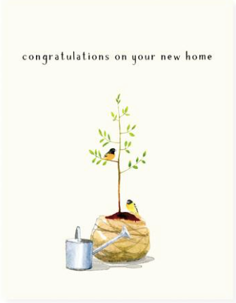Taking Root Greeting Card