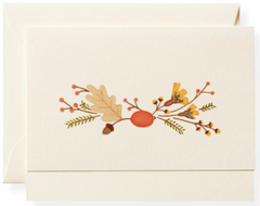 Fall Note Card Box