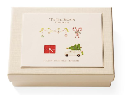 Tis the Season Note Card Box