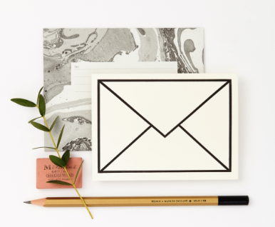 Envelope HP Petit Greeting Card