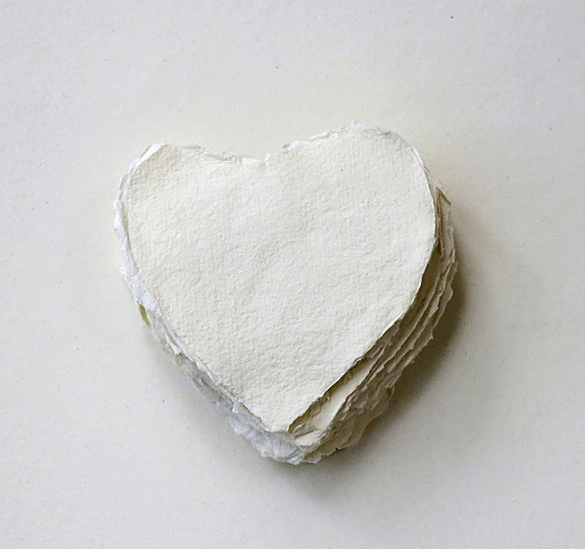 Small Handmade Paper Heart