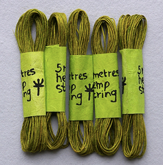 Hemp String - 5 colors available