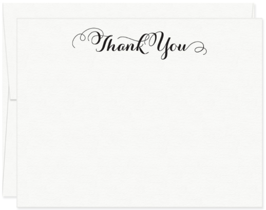 Curlicue Thank You Boxed Set