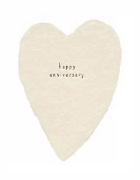 Anniversary Heart Greeting Card