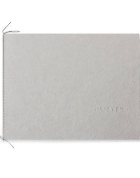 Blind Embossed Guest Booklet