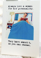 Always Love a Woman Greeting Card